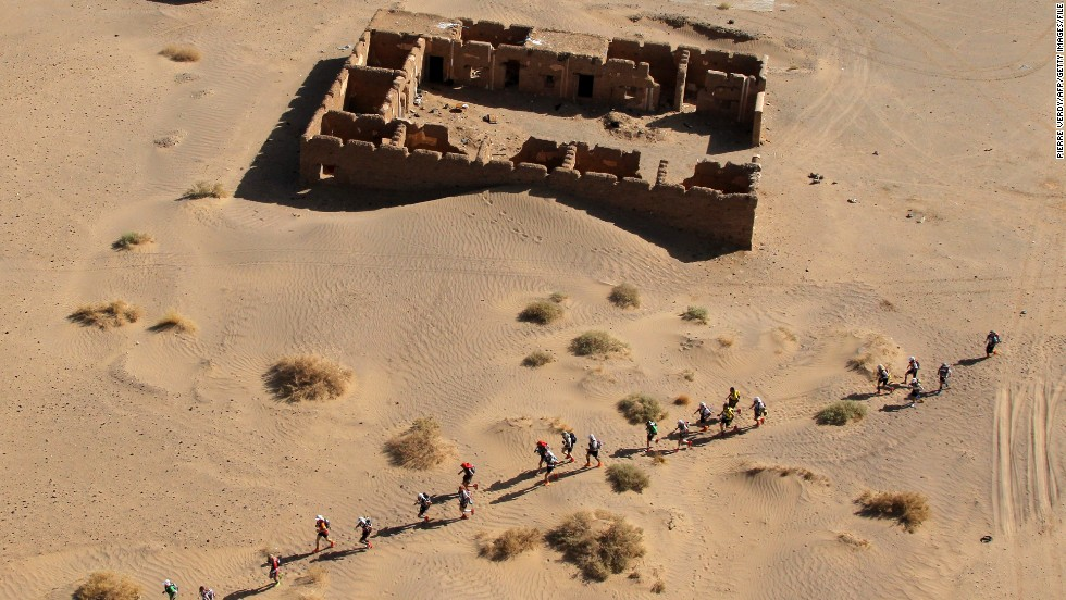 """""""The surroundings and the scenery are just fantastic,"""" says British ultra-running champion Jen Salter, who's competed in the MDS four times."""