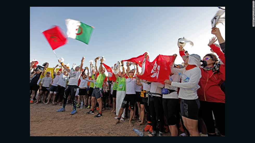 Due to high demand, the race has to be entered several years in advance. This year, participants hailed from nearly 50 different countries.