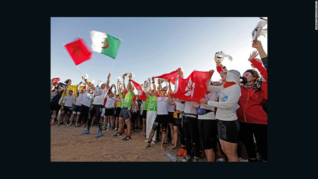 Due to high demand, the race has to be entered several years in advance. This year, participants hail from nearly 50 different countries.