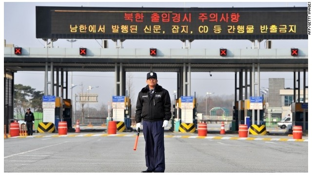 Koreas to resume talks on Kaesong park