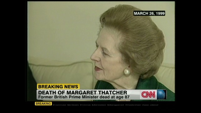 Kissinger: Thatcher was a great lady