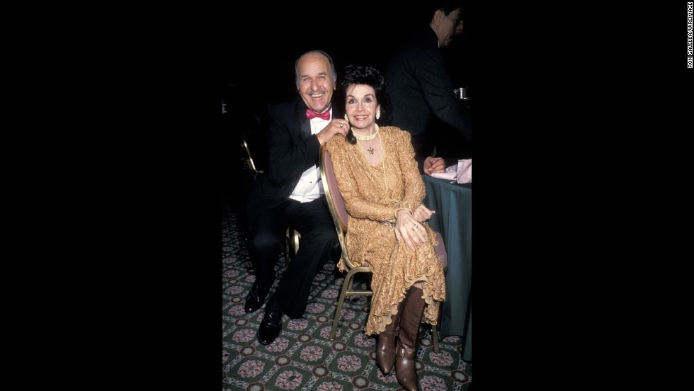 Funicello and husband Glen Holt attend a gala in New York.