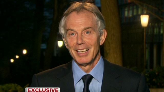 "Blair on Thatcher: ""A towering figure"""