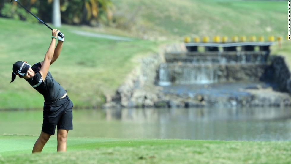 Jing Yan -- then 16 -- became the youngest Chinese female golfer to ever play in a major, after comfortably qualifying for the 2012 British Open at Royal Liverpool.