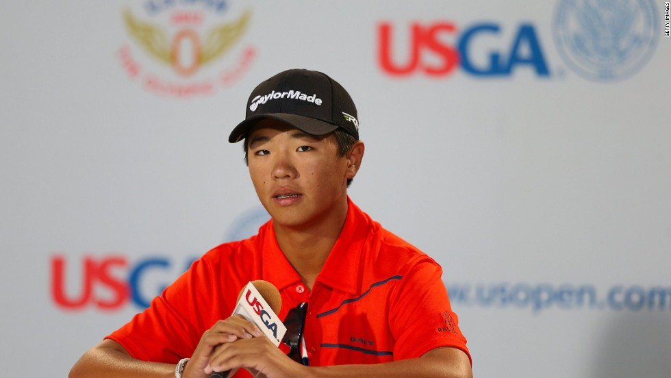 Andy Zhang was just 14 when he became the youngest player to compete in the history of the 2012 U.S. Open, a tournament first played in 1895.