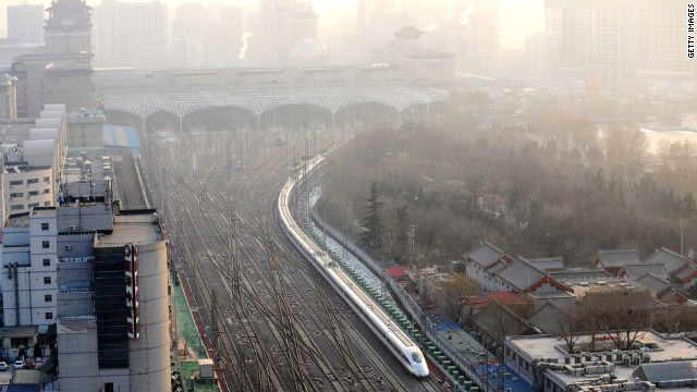 Rail rules in China