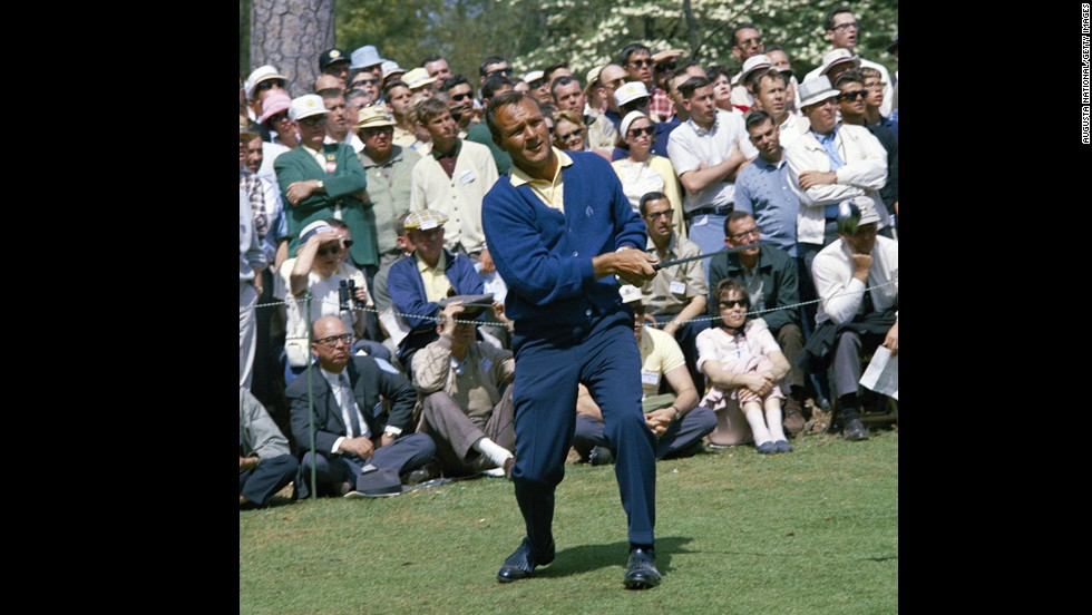 "Before his name came to mean a beverage of iced tea and lemonade, Arnold Palmer -- and his pompadour -- was still that cool. Palmer is credited with popularizing golf with the masses, and he had the blue-collar swagger to match. Esquire magazine even named him one of the ""75 Best Dressed Men of All Time."""