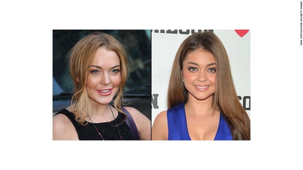 """Modern Family"" star Sarah Hyland plays a teen on the show. But is she older than La Lohan?"