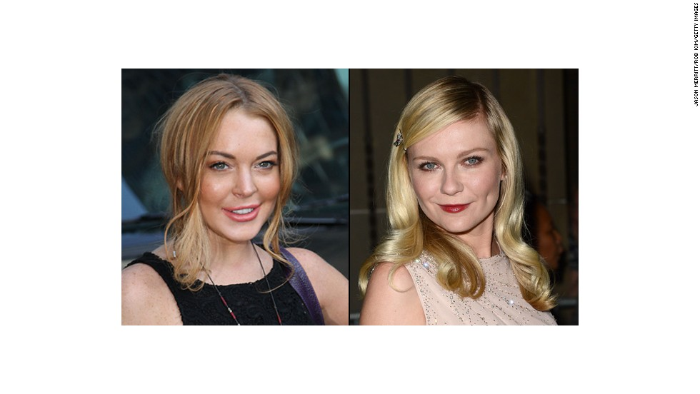 Lohan and Kirsten Dunst were both child stars. But who is older?