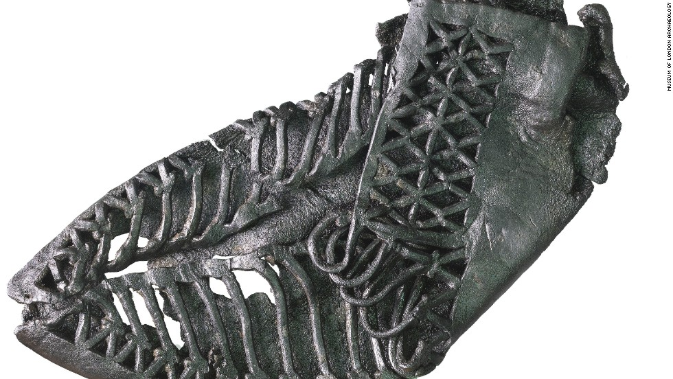 Roman leather carbatina (a shoe.)