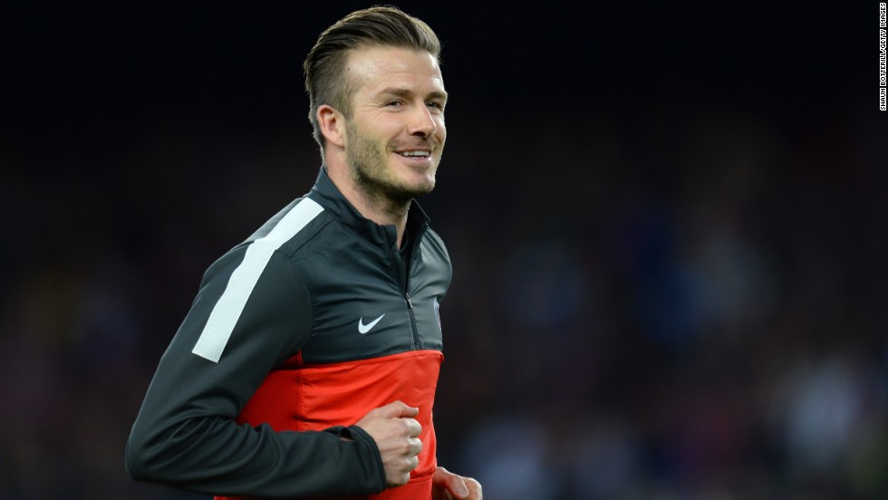 David Beckham had to make do with a place on the substitutes bench for Paris Saint-Germain. The former Real Madrid man had hoped to earn a start against his old club's great rival.