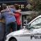 firefighters hostage neighbors hug