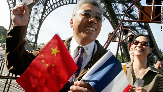 Paris, the capital of France, has become a popular destination for Chinese travelers over the years.