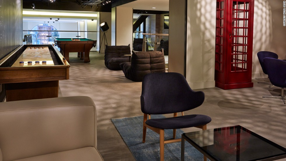 How many gigabytes is a zettabyte? Ask the technorati flooding this new San Francisco hotel. Guestrooms feature integrated technology that allows music, movies, emails and more to stream from your mobile device to an Internet-enabled, 46-inch flatscreen TV.