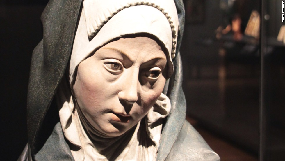 "This painted terracotta statue of the ""Mater Dolorosa,"" or ""Our Lady of Sorrows"" (c.1500-1510) is among the new acquisitions collected while the museum was closed to visitors."