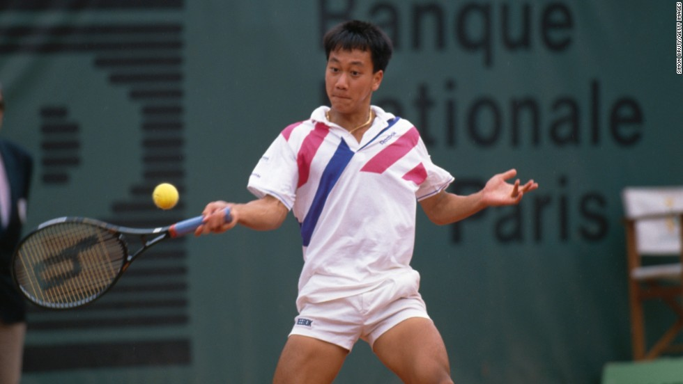American tennis player Michael Chang won the French Open in 1989 at age 17, becoming the youngest male winner of a Grand Slam singles event.