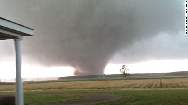 Deadly tornado hits Southeast