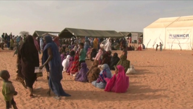 Report: Mali refugee camp appalling