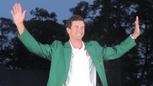 Adam Scott: 'It's an amazing journey'