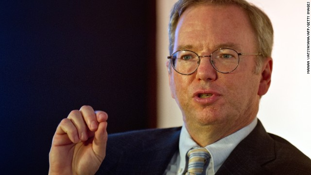 Google Executive Chairman Eric Schmidt says everyone on Earth will be connected by 2020.
