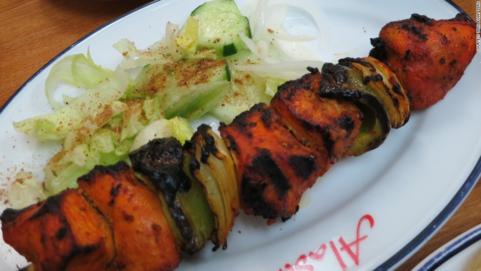 Tandoori chicken kebab at Swadesh, in L.A.'s Little Bangladesh.