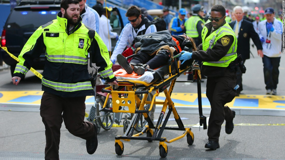 Terrorism strikes Boston Marathon as bombs kill 3, wound scores - CNN.com