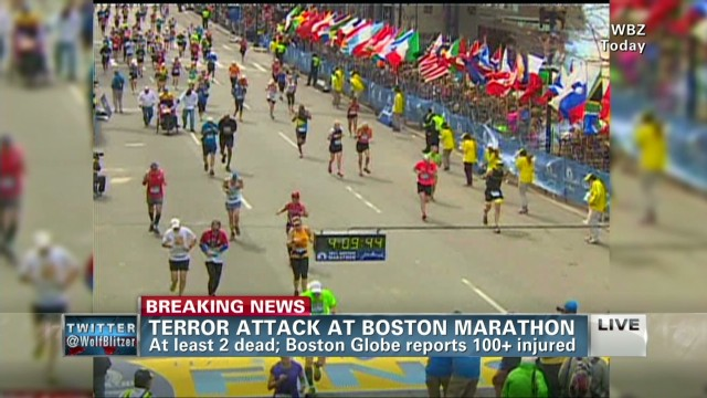 Witness describes Boston Marathon bombings
