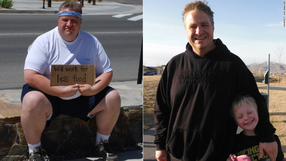 During the 12-week HealthyWage competition, Whicker lost 75 pounds. Since then, he's lost another 50.