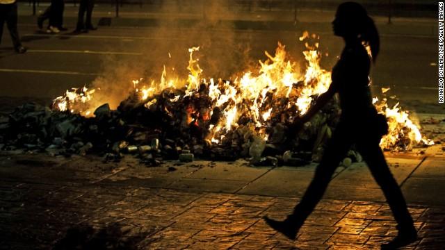 Violence in Venezuela after election