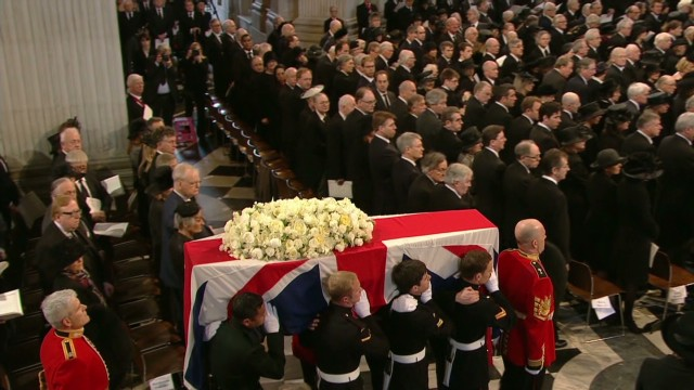 Britain's farewell to Margaret Thatcher