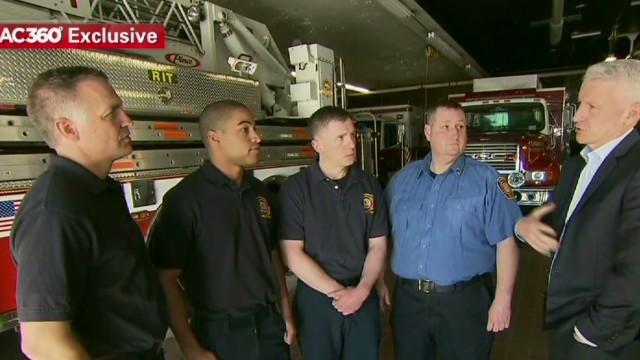 Firefighter: Marathon was like a war zone