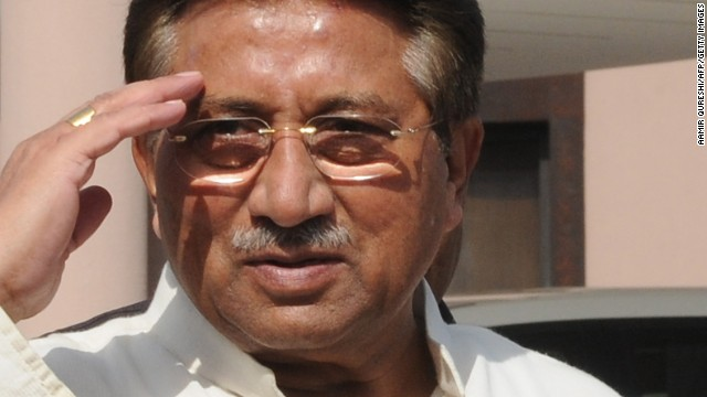 Musharraf under house arrest