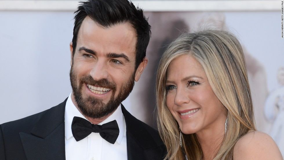 "Jennifer Aniston, 45, is ""thisclose"" to marital bliss with her fiance, 42-year-old Justin Theroux. Before becoming engaged to Theroux, Aniston dated John Mayer, who's eight years her junior."