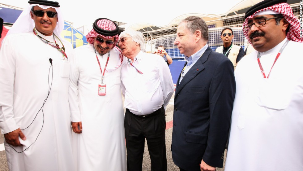 Ecclestone and FIA president Jean Todt both attended the race in 2012 when it returned to the calendar after it was called off in 2011 because of civil unrest -- but this time only Ecclestone attended the grand prix.