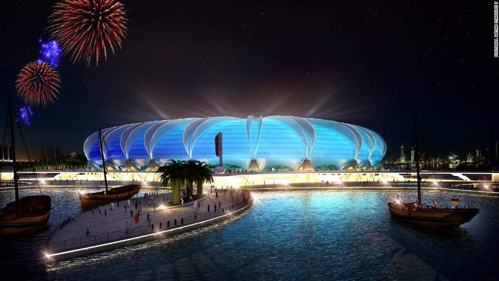Qatar has promised a futuristic World Cup -- whichever month it is held in 2022. But at what price?