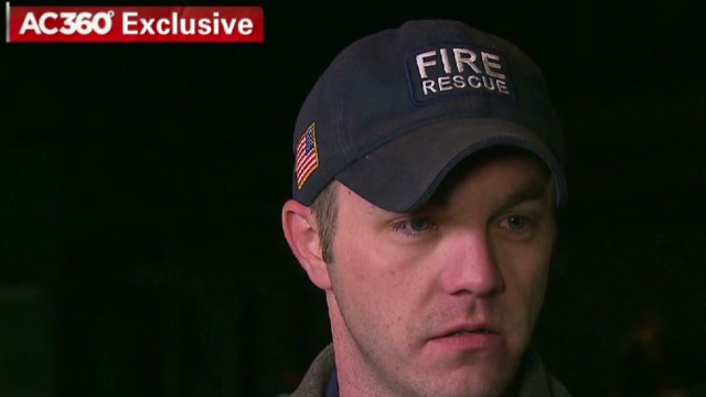 Paramedic wept in April CNN interview