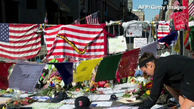 Honoring the Boston bombing victims