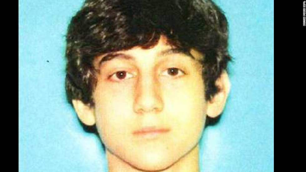 The Boston Police Department also released this undated photograph of Tsarnaev.