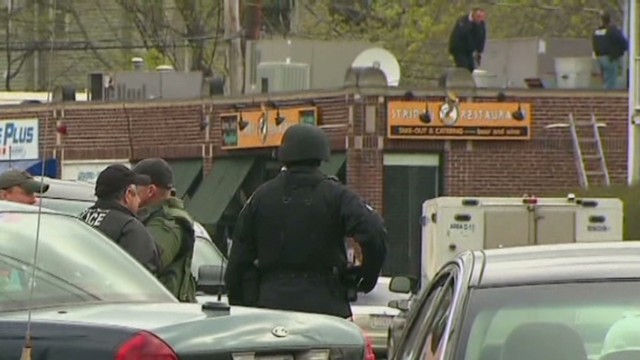 Events leading up to Boston manhunt