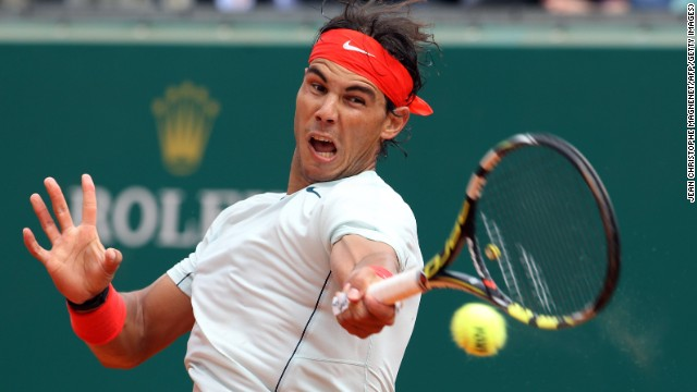 Rafael Nadal overcame the challenge of Bulgaria's Grigor Dimitrov in the last eight of the Monte Carlo Masters.