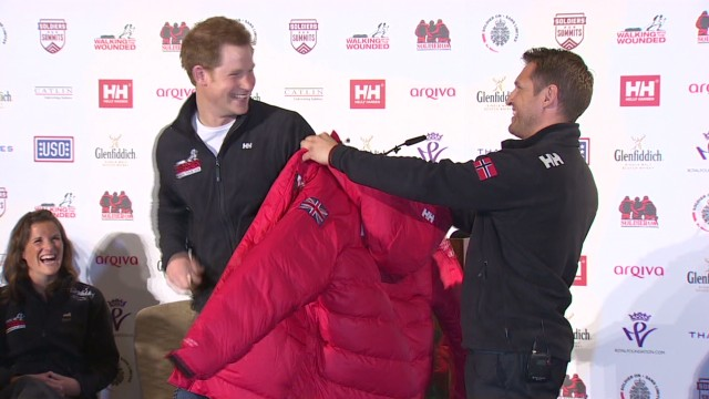 Harry, wounded vets to visit South Pole
