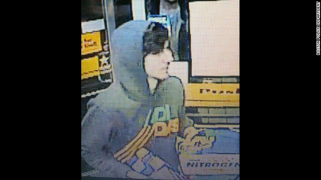 Police found an image of Boston bombing suspect Dzhokhar Tsarnaev on a convenience store surveillance camera.