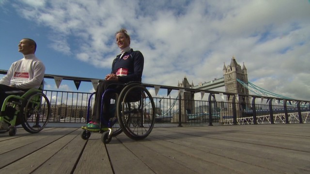 Boston wheelchair champ racing in London