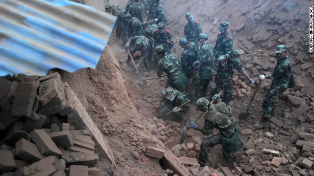 Quake strikes China's Sichuan province.