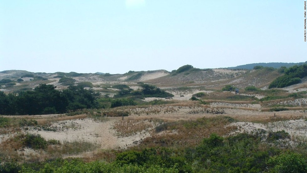 Enjoy the Province Lands dunes in Provincetown, part of Cape Cod National Seashore.