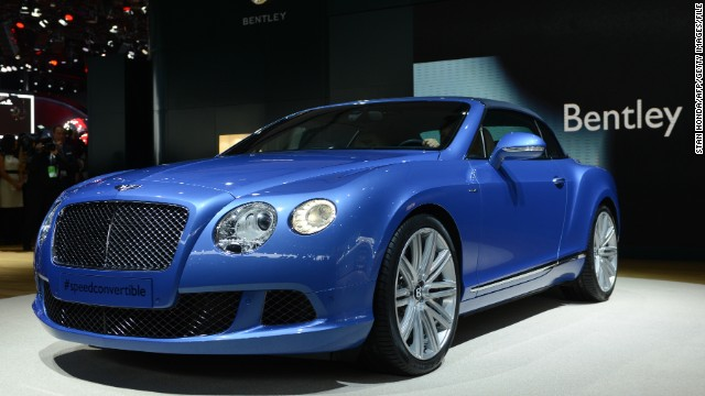 Bentley shows off new Mulsanne