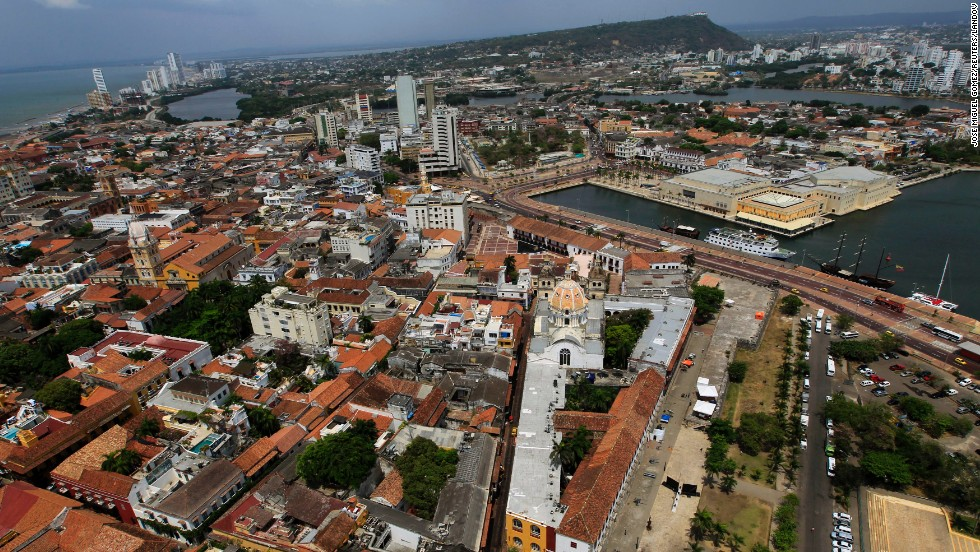 The Caribbean port city of Cartagena hosted the Sixth Summit of the Americas in April 2012, during which leaders in the Americas discussed how to better connect the different countries.