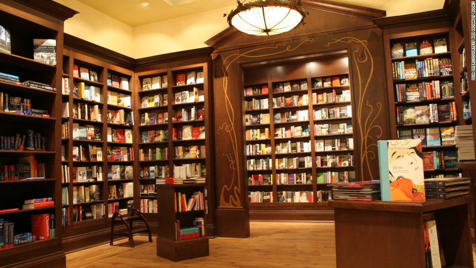To author Hilary Davidson, Ben McNally Books in Toronto looks like an idyllic private club for book lovers.