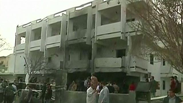 Explosion rocks French Embassy in Libya