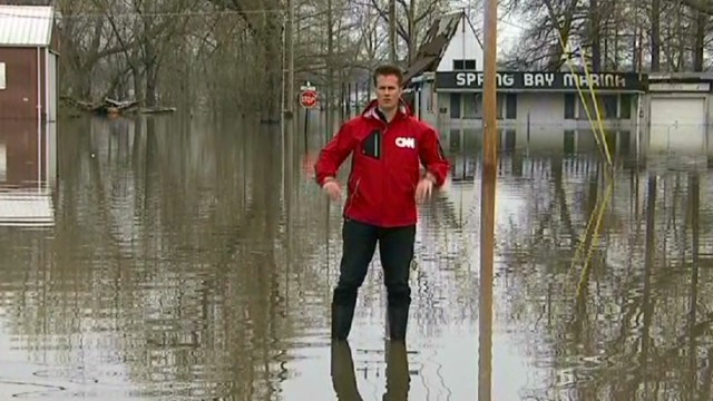Flooding continues across Midwest